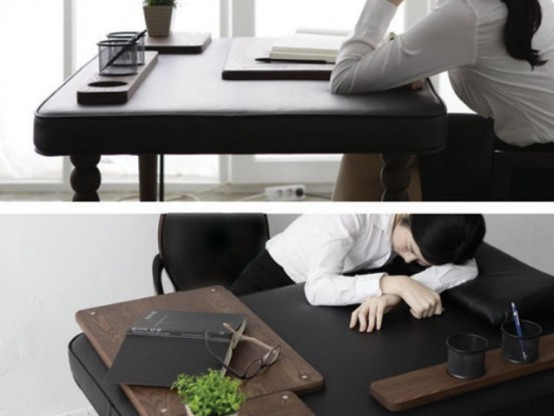 Real Soft Desk To Nap During The Work