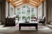 Really Awesome Sunroom For Gatherings