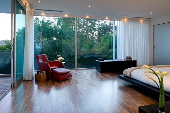 Really Modern Pool House