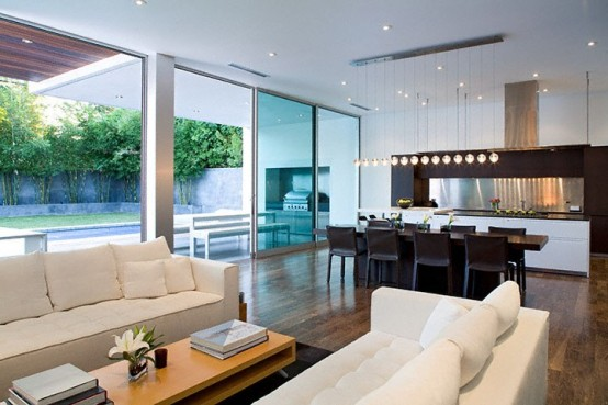 Simple Modern House Interior simple modern house with amazingly comfy interior - digsdigs