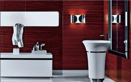 Good Red Bathroom Design Ideas