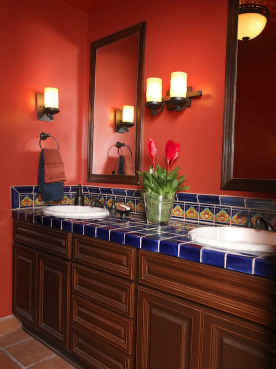 28+ [ red bathroom designs ] | top 5 colorful bathroom designs,39