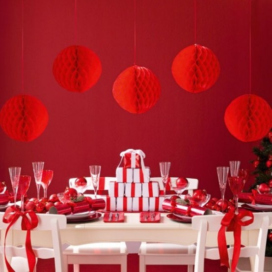 40 Christmas Decoration Ideas In All Shades Of Red