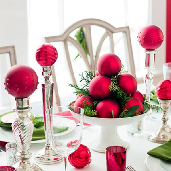 37 Stunning Christmas Dining Room Décor Ideas: 40 Christmas Decoration Ideas In All Shades Of Red