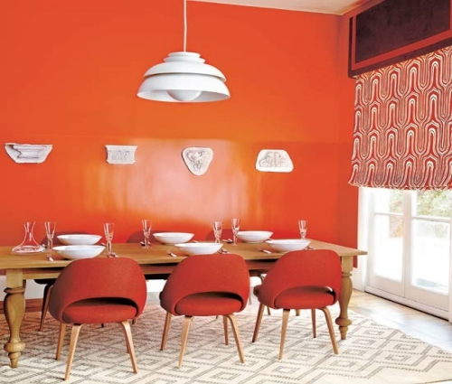 39 bright and colorful dining room design ideas digsdigs for Modern dining area ideas