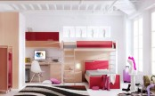 Red Teen Room