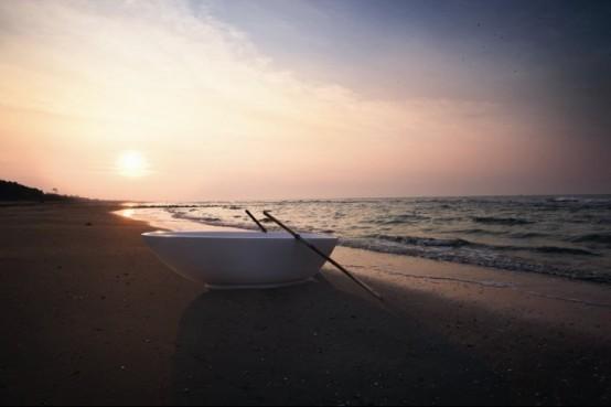 Refine Black and White Sanitary Ware for Modern Bathroom – Vela by Rexa Design