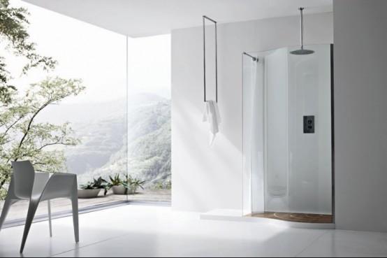 Refine Black And White Sanitary Ware For Modern Bathroom
