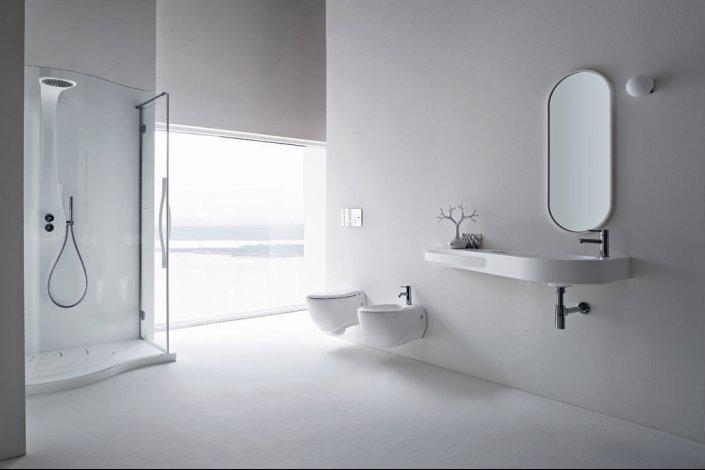 Refine Black And White Sanitary Ware For Modern Bathroom Vela By Rexa Desig