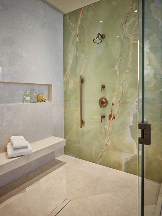 29 refined onyx d cor ideas for any interiors digsdigs for Onyx bathroom design