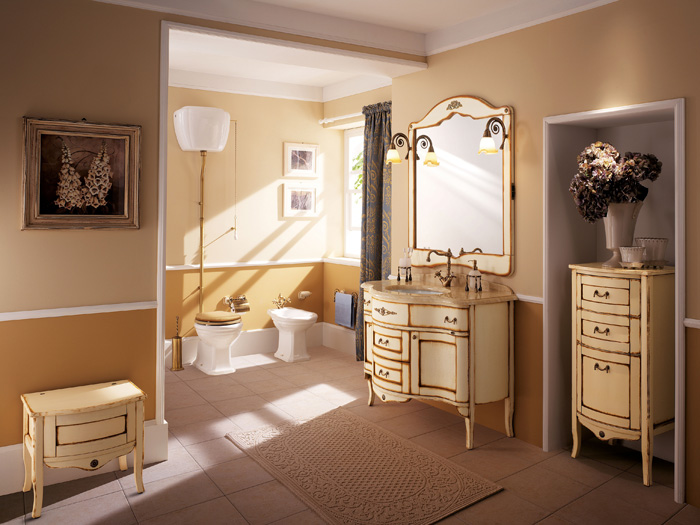 Refined Palladio Bathroom Furniture Collection