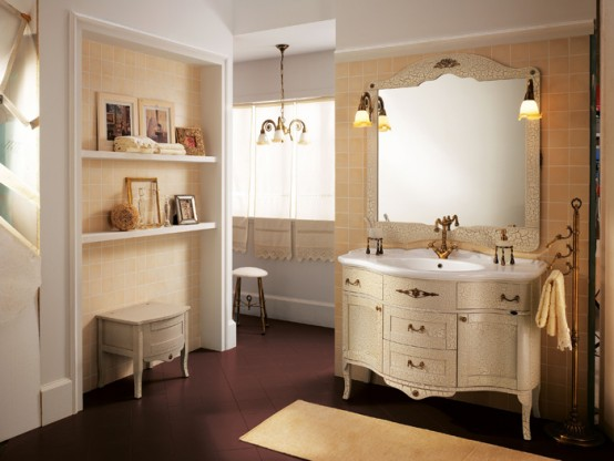 Beautiful Refined Palladio Bathroom Furniture Collection