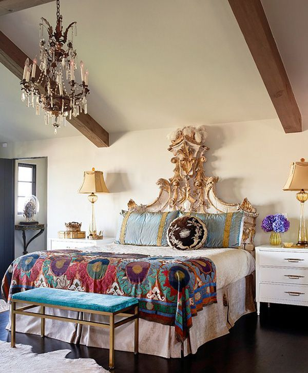 48 Refined Boho Chic Bedroom Designs | DigsDigs on Boho Room Decor  id=14983