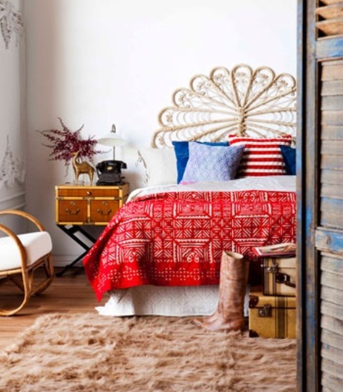 Boho Chic Bedroom: UNDER COVERS: Boho-Chic Bedroom Ideas