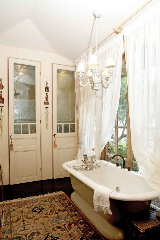 refined decor ideas for a vintage bathroom - Bathroom Designs Vintage