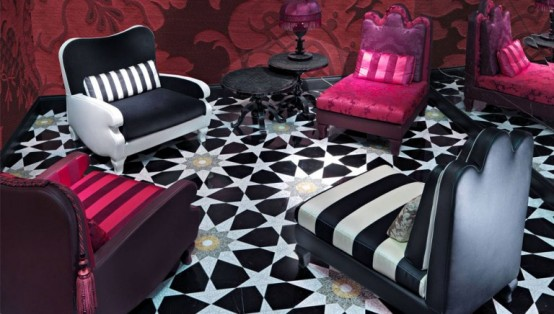 Refined Furniture Collection For Those Who Like Extravagance By Christian Lacroix