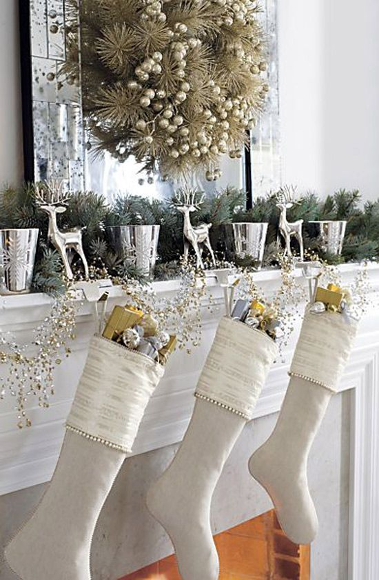 44 refined gold and white christmas d u00e9cor ideas