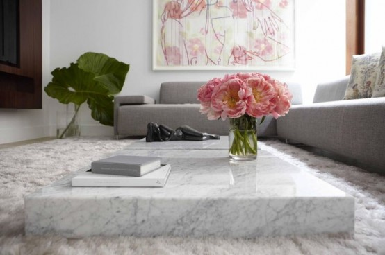 Refined Marble Furniture Pieces For Home Decor