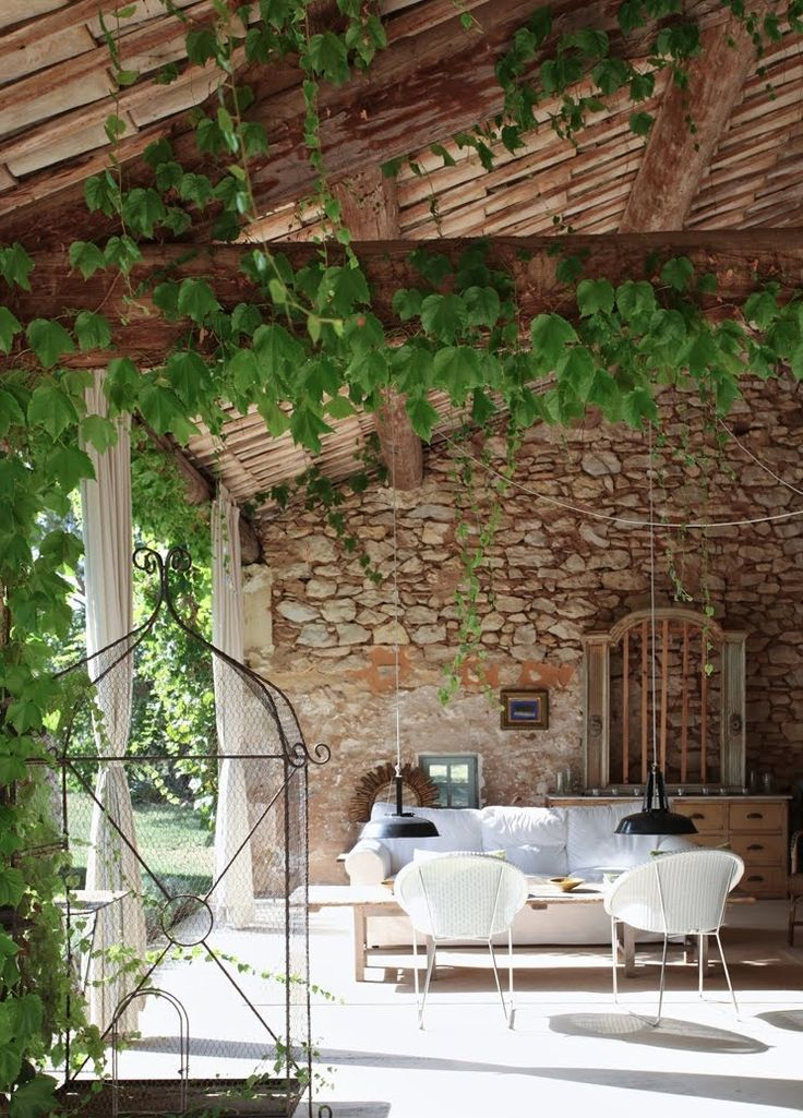 34 refined provence inspired terrace d cor ideas digsdigs for Terrace party decoration ideas