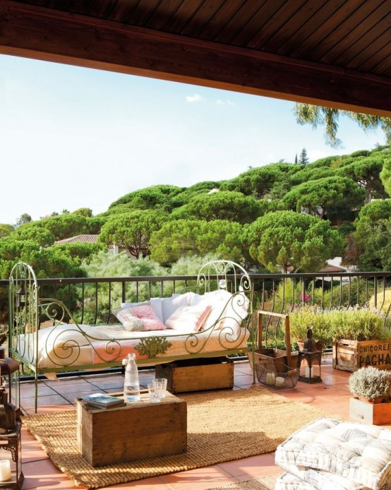 34 refined provence inspired terrace d cor ideas   digsdigs