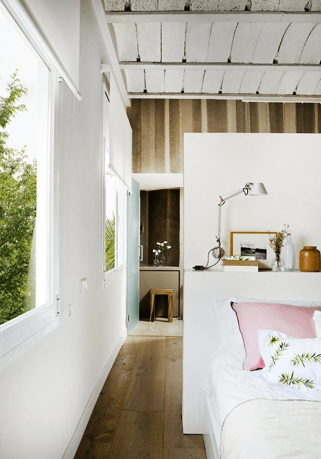 Refined Rustic Bedroom With Ensuite Bathroom