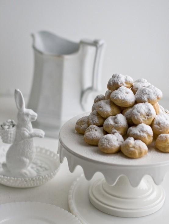 Refined White Easter Decor Ideas