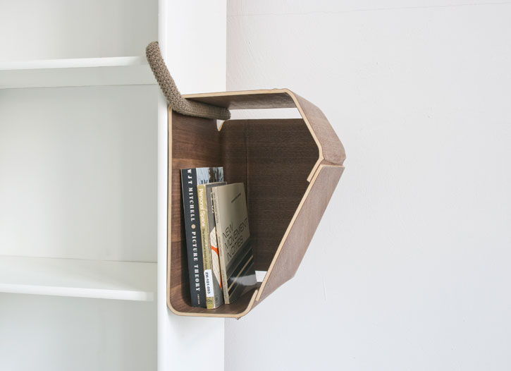 Smart Extension for Regular Shelf Systems and Bookcases – Plus One by Matthias Ries