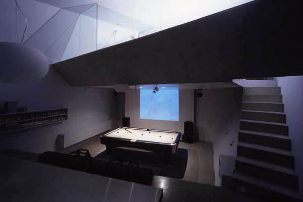Small House With Reinforced Concrete Frame Hall House