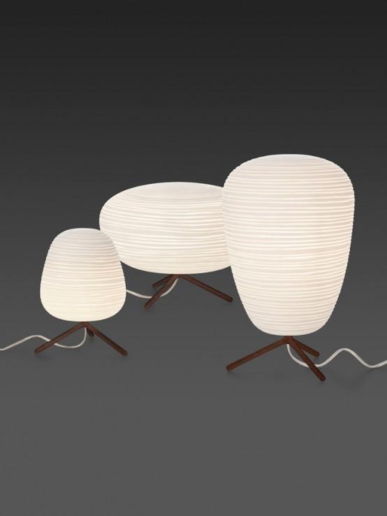 Reinterpreted Japanese Rice Paper Lanterns Rituals By Foscarini