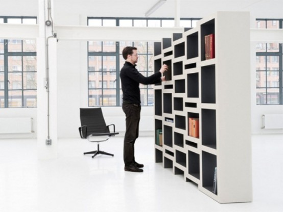 Rek Expanding Bookcase With Sliding Parts