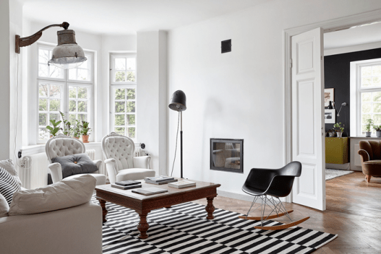 Relaxed Mid-Century Modern Swedish Villa