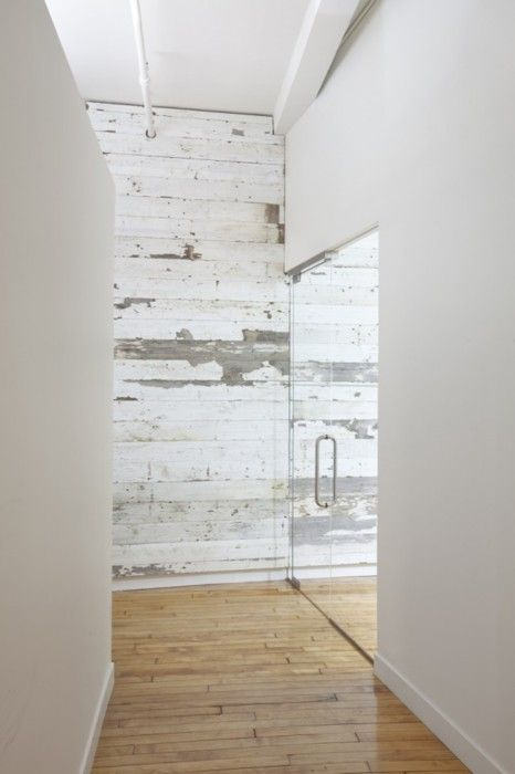 White Wood Wall : 34 Relaxed White Wash Wood Walls Designs - DigsDigs