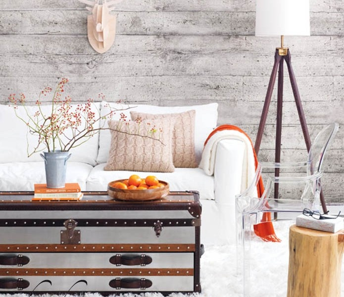 34 relaxed white wash wood walls designs digsdigs - Wall designs with wood ...