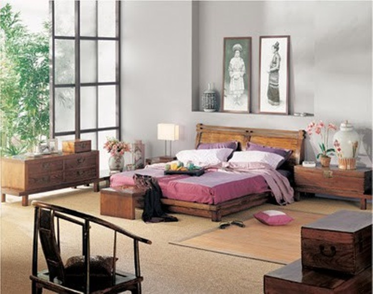 36 relaxing and harmonious zen bedrooms digsdigs for Bedroom inspiration oriental