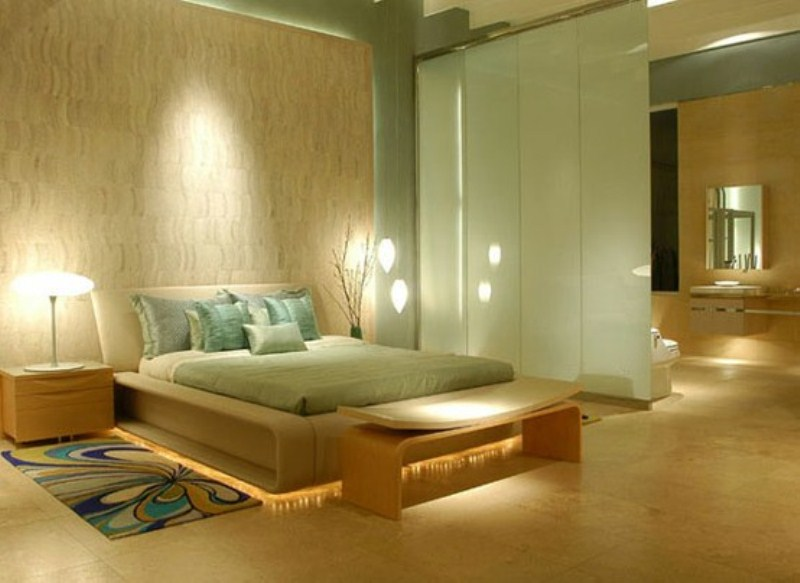36 relaxing and harmonious zen bedrooms digsdigs - Pintura de dormitorios matrimoniales ...