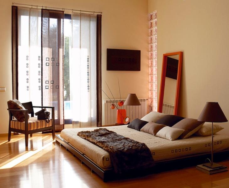 picture of relaxing and harmonious zen bedrooms