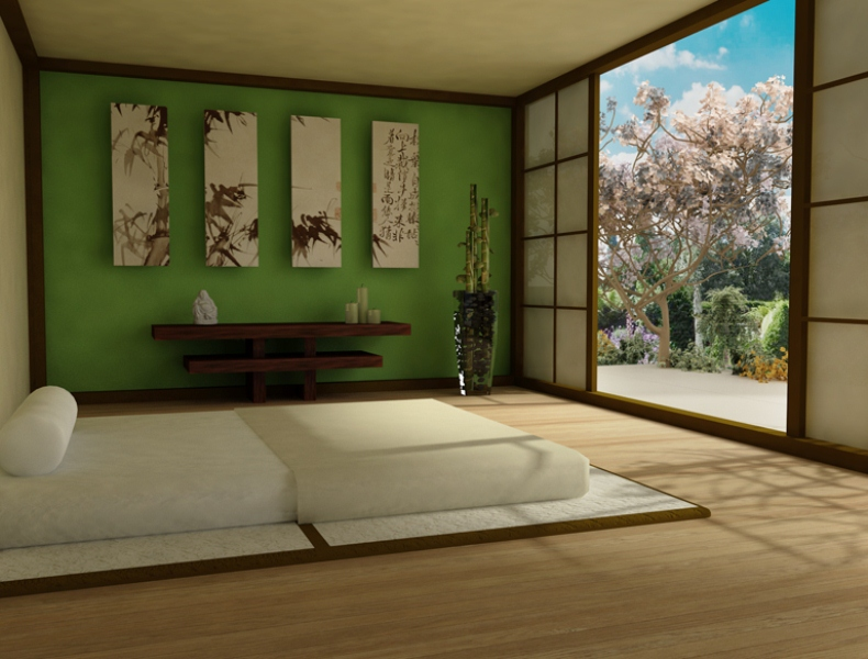 36 relaxing and harmonious zen bedrooms digsdigs Zen bedroom ideas