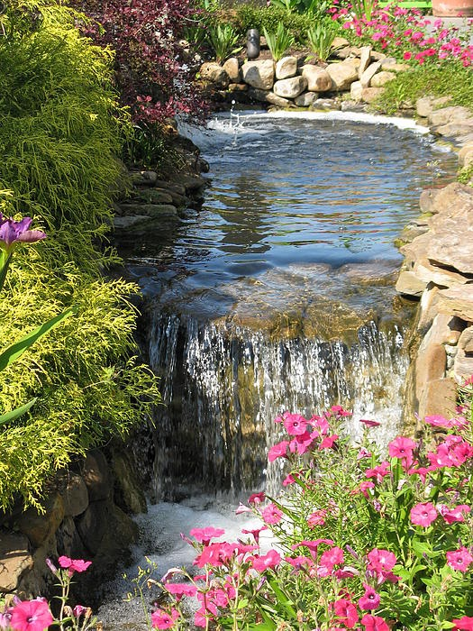 Superior Relaxing Backyard And Garden Waterfalls