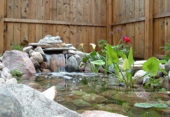 Merveilleux Relaxing Backyard And Garden Waterfalls