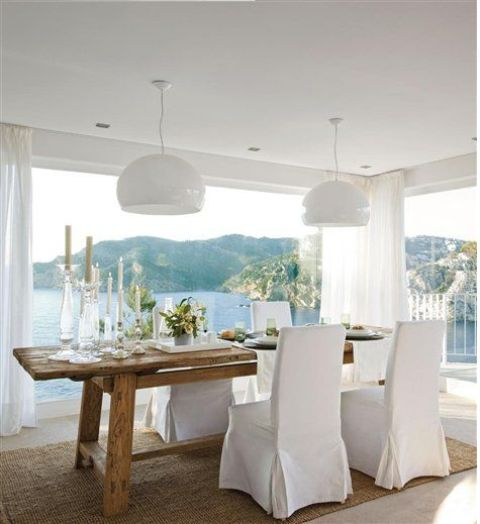 Relaxing Coastal Dining Rooms And Zones