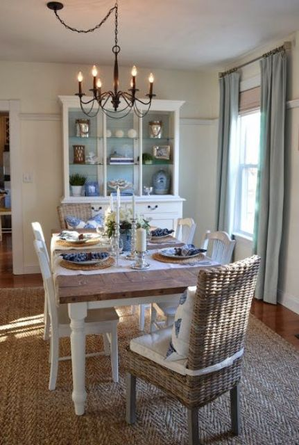 Relaxing Coastal Dining Rooms And Zones Digsdigs
