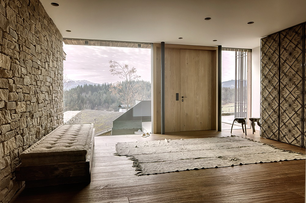 Relaxing House With A Neutral Interior In The Austrian Alps