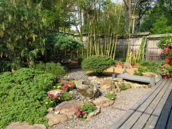 18 relaxing japanese inspired front yard d cor ideas for Japanese garden small yard