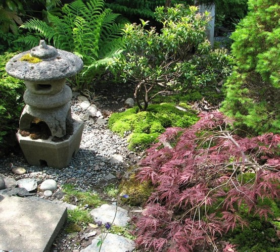 18 Relaxing Japanese-Inspired Front Yard Décor Ideas - Digsdigs