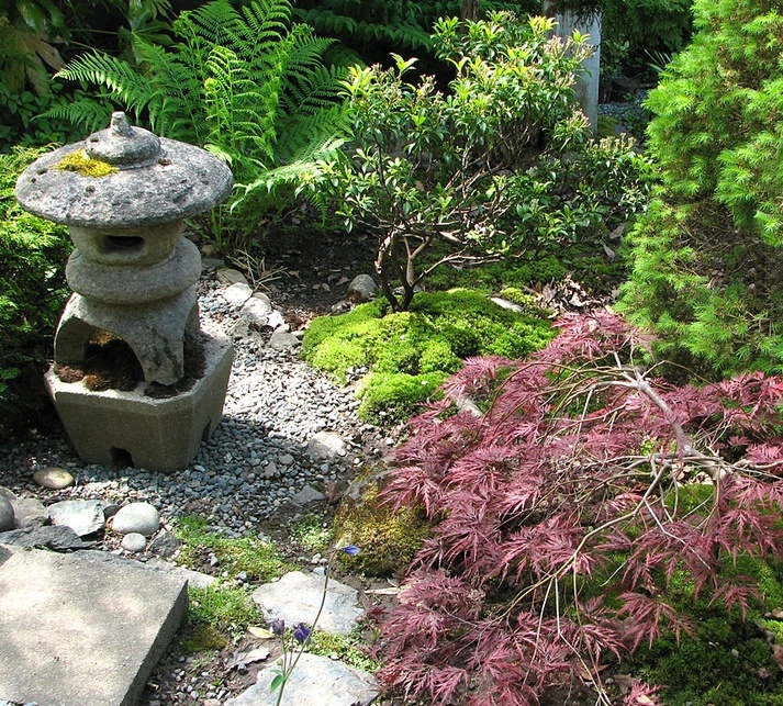 18 relaxing japanese inspired front yard d cor ideas for Decoration jardin terrasse