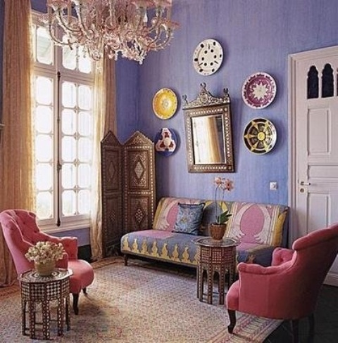 Moroccan living room interior design ideas - Moroccan living room design ...