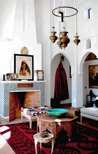 Elegant 51 Relaxing Moroccan Living Rooms