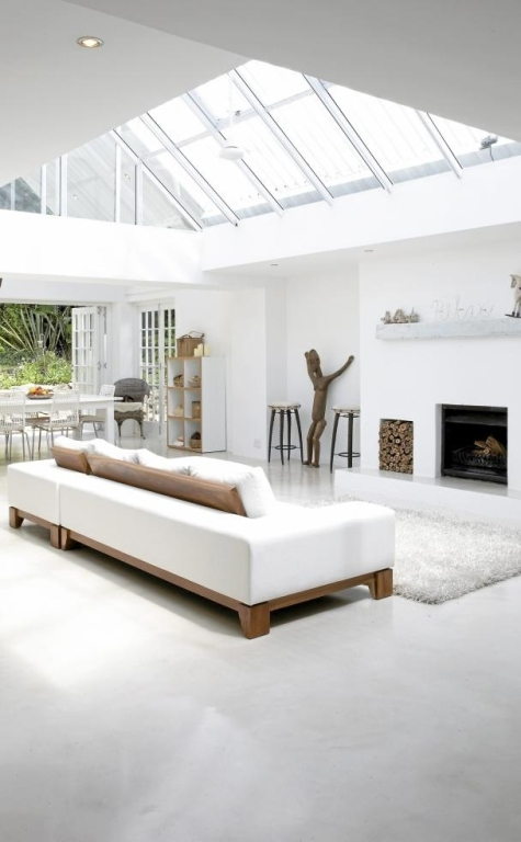 Relaxing Open Plan White House