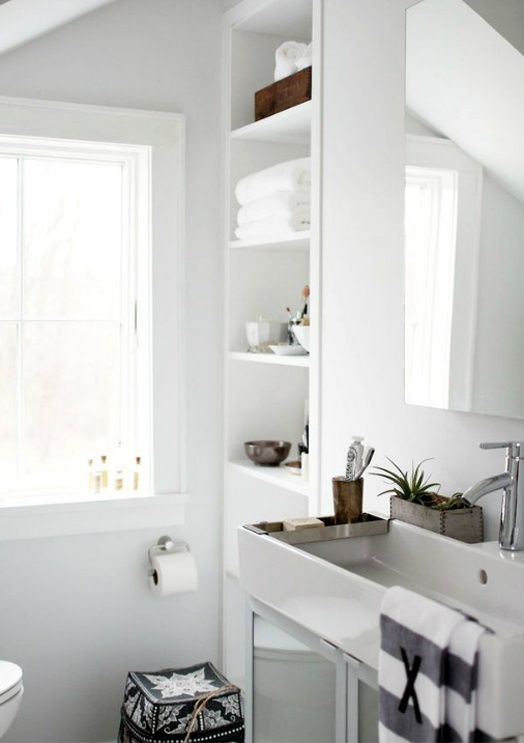 50 Relaxing Scandinavian Bathroom Designs - DigsDigs