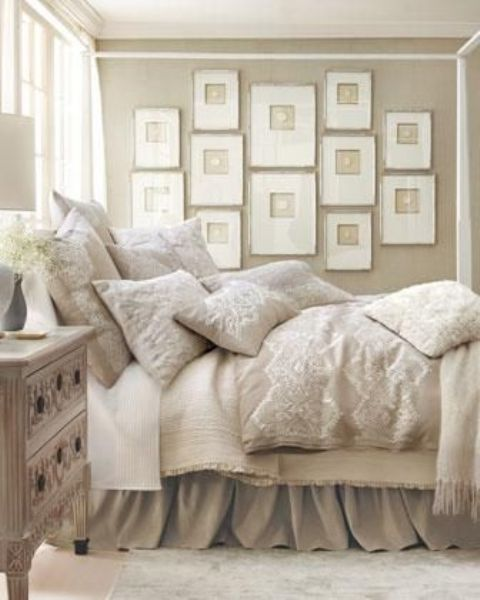 Room Decor Furniture Interior Design Idea Neutral Room: 36 Relaxing Neutral Bedroom Designs